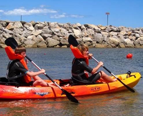 Stage Canoe Kayak Pole nautique gruissan