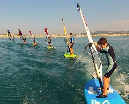 Stage windsurf gruissan
